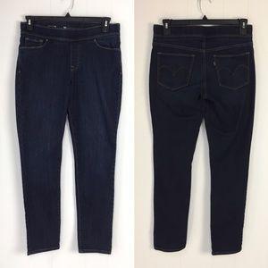 Levi's Stretch Waist Jegging Dark Wash Jeans 30